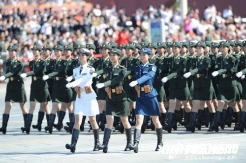 中学生建国70周年阅兵观后感